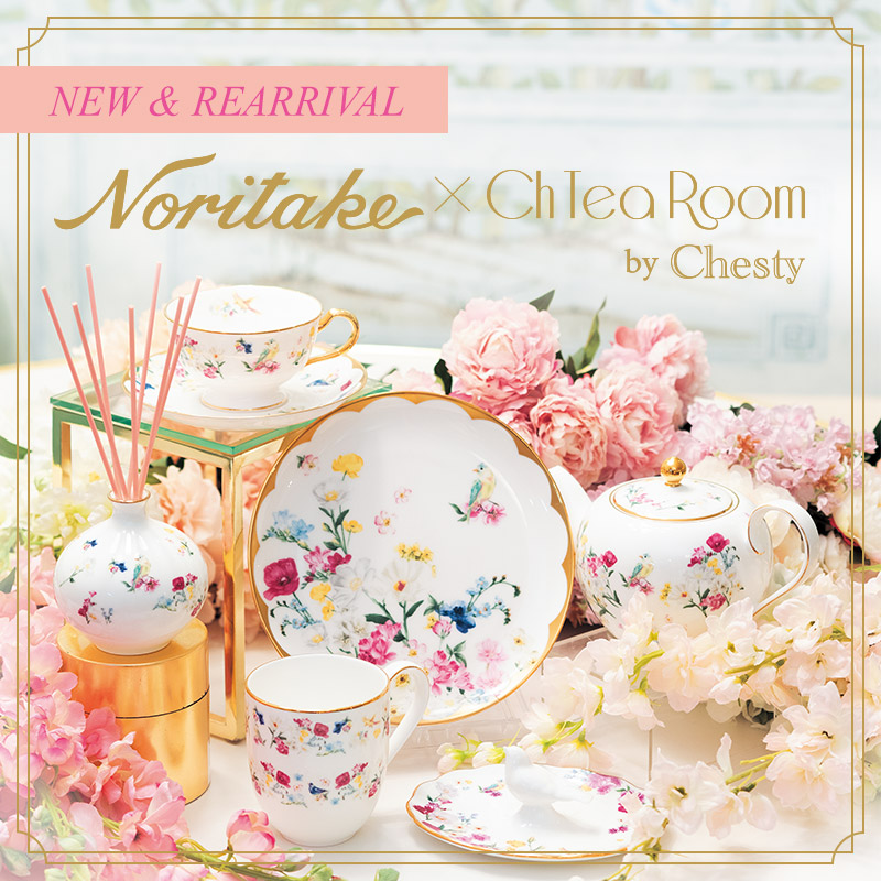 Noritake × Ch tea Room by Chesty