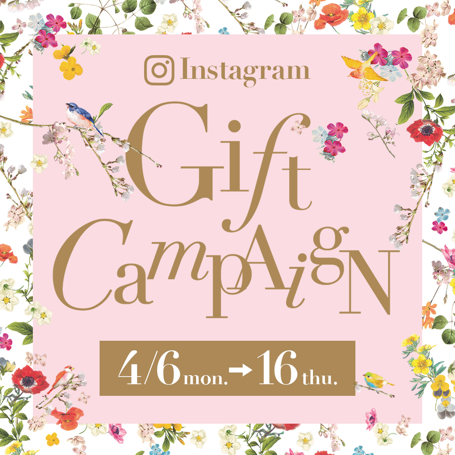 ☆Instagram Gift Campaign☆